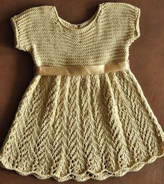 knitt lace dress