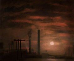 Sunrise Over Wigan, Theodore Major