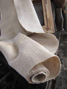 Antique hemp linen upholstery fabric