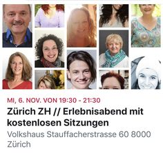Voller Vorfreude auf diese ErlebnisAbende im Volkshaus Zürich und in Olten. Schweizer Medien, einschliesslich mir, demonstrieren Jenseitsbegegnungen für das Publikum.  Ein ideale Gelegenheit das Vermitteln zwischen den Dimensionen zu erleben.   Danke Dein Medium - finde dein Medium!für die Organisation 🙏🏻💙