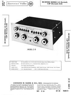 mcintosh ma 6500 original service manual mcintosh service rh pinterest com