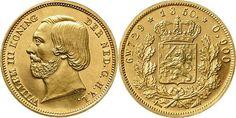 NumisBids: Schulman b.v. Auction 346, Lot 725 : KONINKRIJK DER NEDERLANDEN - WILLEM III 1849–1890 Enkele Willem of...