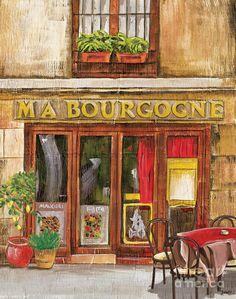 French Storefront 1 ~ Debbie DeWitt
