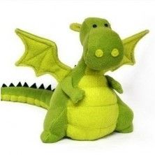 Yoki the Fat Dragon Soft Toy Downloadable Pattern by DIY Fluffies