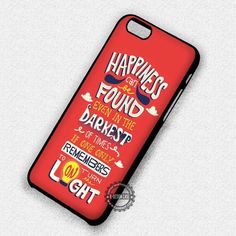 Happiness Quote By Albus - iPhone 7 Plus 6 5 4 Cases & Covers