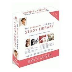 joyce meyer bible - http://www.christianebuymarketplace.com/joyce-meyer-books/