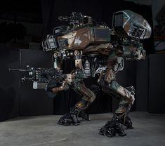 Weta Workshop Moose / Droid designs.: MachineToy