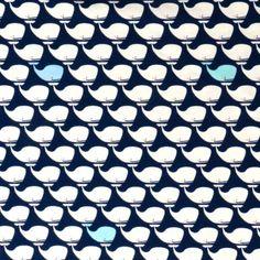 Hier kommt er angeschwommen: Der witzige Walfisch mit seinen Freunden. Wal, Fish, Darkness, Dark Blue, Cotton, Nice Asses