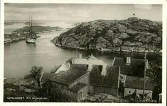 Aust-Agder fylke Lillesand kommune skjærgården Brekkestø Brekkestø. Utg Mittet/Wilse 1929 Mittens, Fingerless Mittens, Gloves