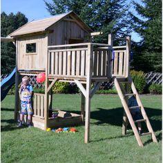 Terrasse für Spielturm