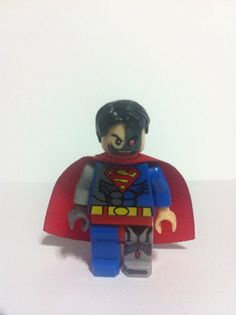 Custom Minifigs - Cyborg SUPERMAN Minifigure Evil Two Faced DC Hank Henshaw