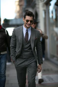 Day 3 of London Collections: Men, and the stylish outfits continued to pour onto the streets. Patchwork jackets, double-breasted suits, leather bikers and classic rollnecks were all accounted for a...