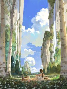 picnic by Shin jong hun