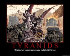 old warhammer 40k space fleet tyranid hive fleet art - Google-Suche