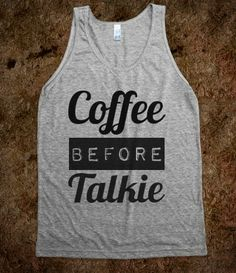 I want to wear this shirt every morning...