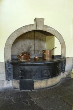 Kitchens, Callendar House, Scotland.