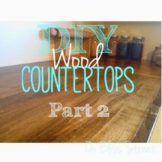 fixing warped board--learn to diy wood countertops for under $200 in this 3 post series.