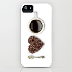 I Love Coffee iPhone Case by Zuno - $35.00