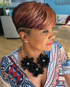 Cut color style the way. Book the look. Short Sassy Hair, Short Hair Cuts, Short Hair Styles, Pixie Cuts, Short Pixie, Black Women Short Hairstyles, Cute Short Haircuts, Ethnic Hairstyles, Pixie Hairstyles