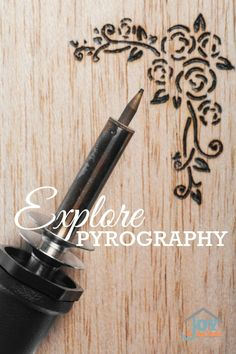Explore Pyrography - Part of the 31 Days of Exploring Free Afternoon Activities | www.joyinthehome.com