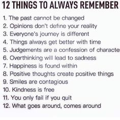 Learning to Love Yourself More...: 12 Things to Always Remember
