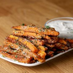 Garlic Parmesan Baked Carrot Fries Recipe by Tasty