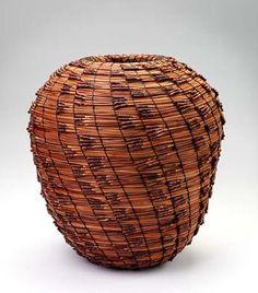 Torrey Pine Needle Basket by Francina Prince / American Art