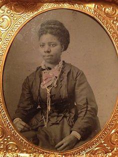 12 African American Victorian Women Tin Type's 1860C 1890C Very Beautifull | eBay