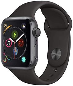 Shop Apple Watch Series 4 (GPS + Cellular) Space Black Stainless Steel Case with Black Sport Band Space Black Stainless Steel at Best Buy. Find low everyday prices and buy online for delivery or in-store pick-up. Buy Apple Watch, Apple Watch Bands, Apple Watch Series, Smartwatch, Mobiles, Android Watch, Black Stainless Steel, Beautiful Watches, Shopping