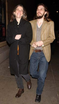 Patti Smith with Oliver Ray at Carnegie Hall for the Sacred Chants for Tibet Concert, in New York City. February 22, 2002