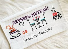 Cross Stitch Embroidery, Bullet Journal, Videos, Instagram, Kitchen, Cross Stitch Kitchen, Embroidered Towels, Initials, Crossstitch