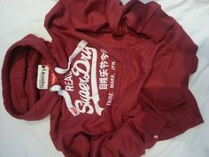Superdry Hoody Mens Ladies Superdry Sale S M L XL Real Superdry (Extra Large, Red) Super Dry, http://www.amazon.co.uk/dp/B00B7JO0H2/ref=cm_sw_r_pi_dp_7aUdrb1J466JG