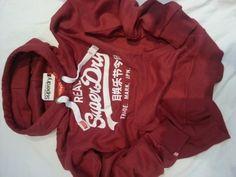 Superdry Hoody Mens Ladies Superdry Sale S M L XL Real Superdry (Extra Large, Red) Super Dry, http://www.amazon.co.uk/dp/B00B7JO0H2/ref=cm_sw_r_pi_dp_7aUdrb1J466JG