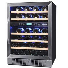 NewAir AWR460DB Dual Zone Compressor Wine Cooler
