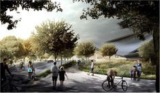 Gallery of New Renderings Revealed of Google's Mountain View Campus - 12