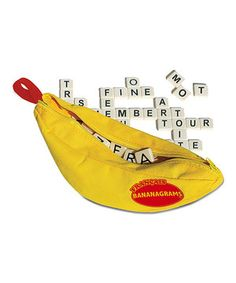 This French Bananagrams Game by Bananagrams is perfect! #zulilyfinds