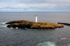 Out Skerries Lighthouse from the air, Shetland Scottish Islands, Solar Panels, Scotland, Lighthouses, World, Water, Outdoor, Britain, Google Search