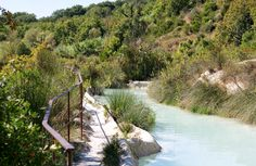 Bagno Vignoni, Toskania, Włochy