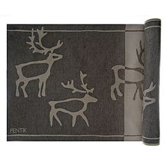 Pentik Saaga Bench Cover - something to keep in sauna :D   ... of course reindeers !!!