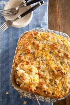 Check out what I found on the Paula Deen Network! Biscuit and Blue Cheese Bread Pudding http://www.pauladeen.com/recipes/recipe_view/biscuit_and_blue_cheese_bread_pudding