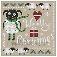 The Floss Box | Wooly Christmas Cross Stitch