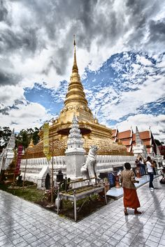 Phar That Chad Haeng Temple, Nan, Thailand