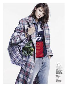 visual optimism; fashion editorials, shows, campaigns & more!: sous le manteau: kersti pohlak by james macari for grazia france 11th october...