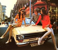 Carnaby St, London - in it's heyday