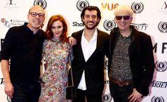 Director Martin Stitt, Actress Rebecca Calder, Actor Jack Gordon and Producer Elliot Grove at the 23rd Raindance Film Festival  in London, 2015.