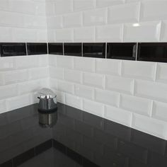 La salle de bain en noir et blanc - masalledebain.com