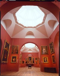 The Dulwich Picture Gallery designed by Soane and opened to the public in 1817 as the first public art gallery in Britain Dulwich Picture Gallery, House Proud, London Townhouse, Google Art Project, Galleries In London, Red Rooms, London Life, British Isles, Public Art