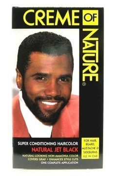Creme of Nature Men's Hair Colors, Jet Black *** You can get more details by clicking on the image.