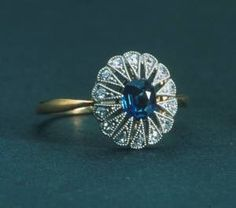 A sapphire ring from Titanic: The Artifact Exhibition at the ...