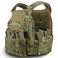 The TYR Tactical™ PICO Assaulters Plate Carrier (TYR-PICO) was designed to incorporate all the ergonomic attributes that are needed for a true fighter's vest. To achieve this, we needed to create a rugged platform that provides an extremely lightweight and ultra-thin carrier while at the same time giving the wearer unprecedented comfort.
